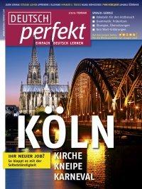 deutsch perfekt einfach deutsch lernen magazine pour apprendre l allemand f u d z. Black Bedroom Furniture Sets. Home Design Ideas